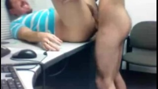 Cop gets fucked for the first time.